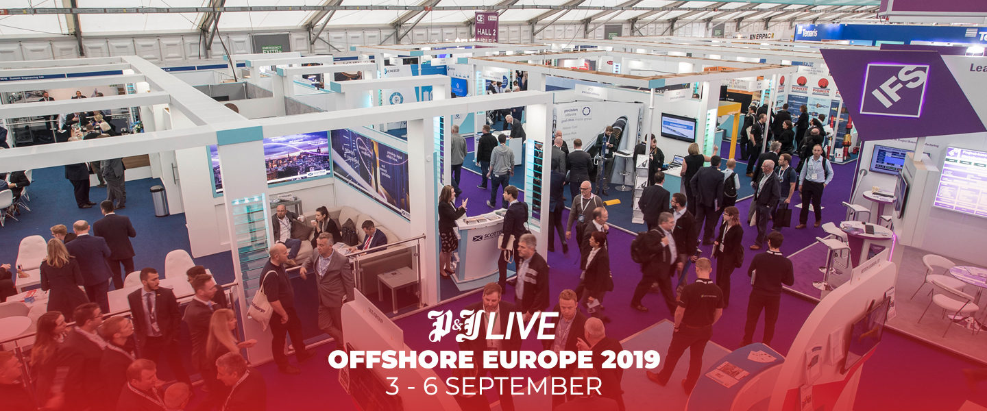 OFFSHORE EUROPE 2019 PJ Live