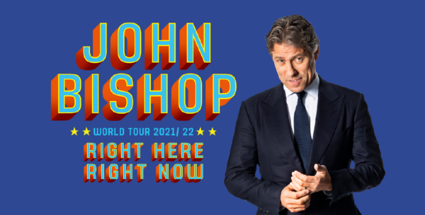 John Bishop website header