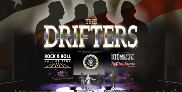 The Drifters website header